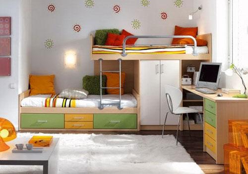 Giường tầng đa năng cho trẻ em - Archi