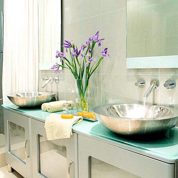 Giải pháp thiết kế cho phòng tắm nhỏ - Archi