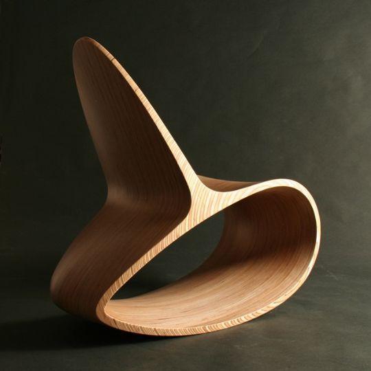 Ghế bập bênh ODEChair của Jolyon Yates - Archi