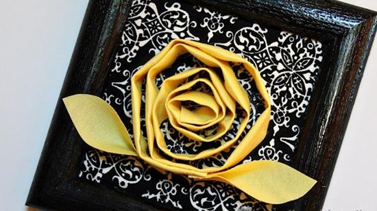 Tranh hoa vải 3D ấn tượng - Archi