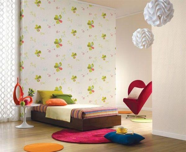 Những mẫu giấy dán tường dễ thương cho phòng bé - Archi