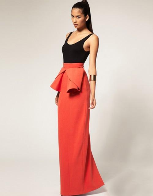 Hè 2012, váy maxi mặc thế nào mới sành điệu? - 12