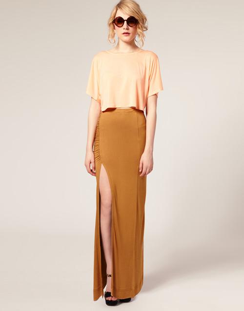 Hè 2012, váy maxi mặc thế nào mới sành điệu? - 5