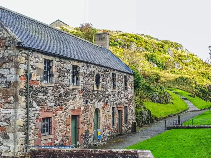 The prison house at Dumbarton Castle
