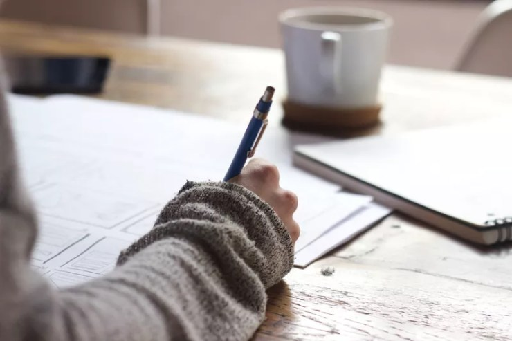 how to write fast - create an outline