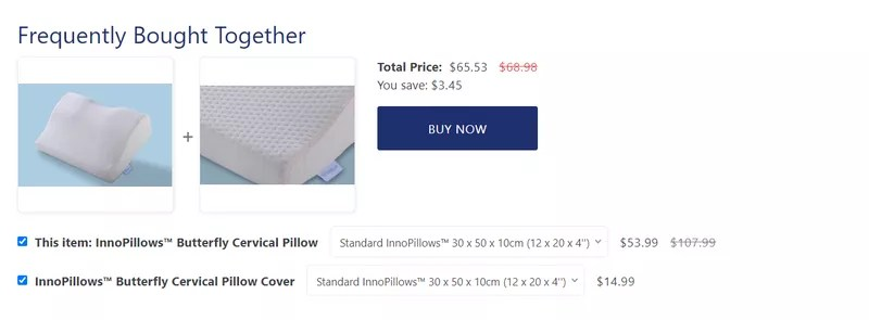 Ecommerce CRO tip: Frequently bought together