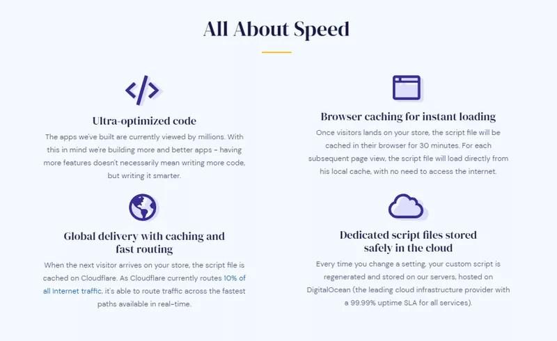 Vitals Pre-Order app — speed improvement