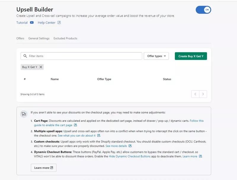 Bogo App #1: Vitals – Get the most out of your BOGO offer and 40+ integrations