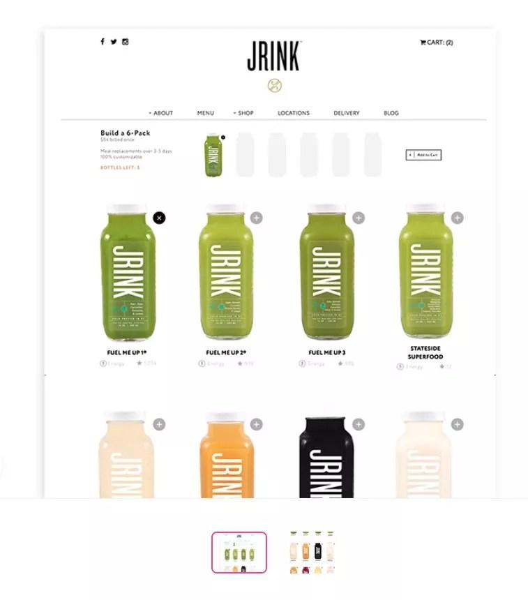 JRINK – Mix and match bundle practice