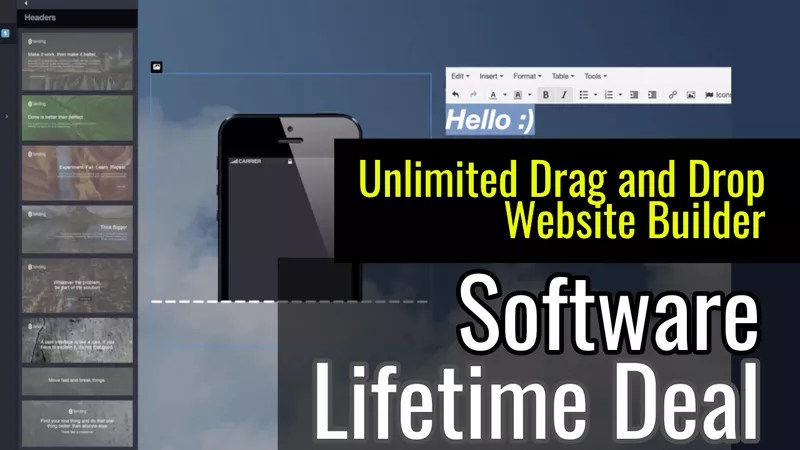 Unlimited Website Builder