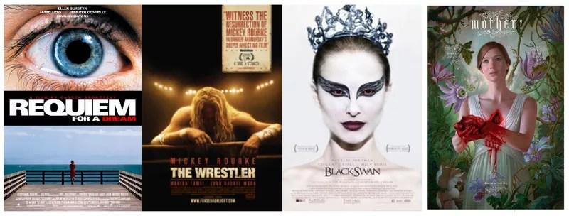 aronofsky, darren aronofsky, black swan, mother, the wrestler, requiem for a dream, Aronofsky's Evolution of Obsession