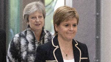 Bedenken: Frau Sturgeon kritisiert den sogenannten Checkers-Plan.