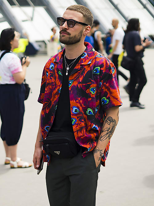 The Best Street Style From Paris Men S Fashion Week 2020 Stylight