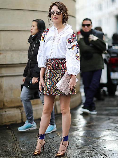 Damen Bluse Im Folklore Look Nur 9 99 Statt 12 99 Nkd
