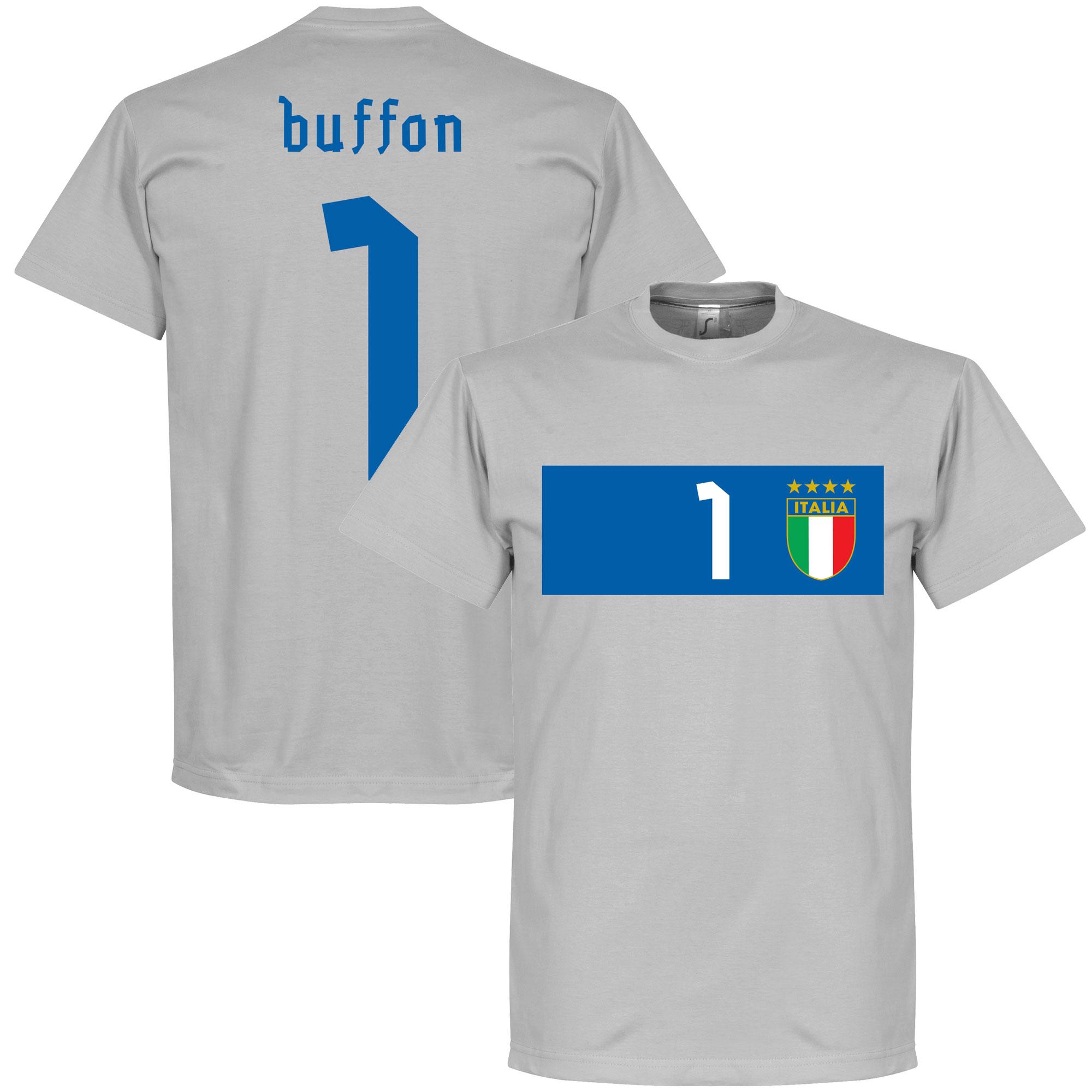 Italy Buffon Banner Tee - Grey - S