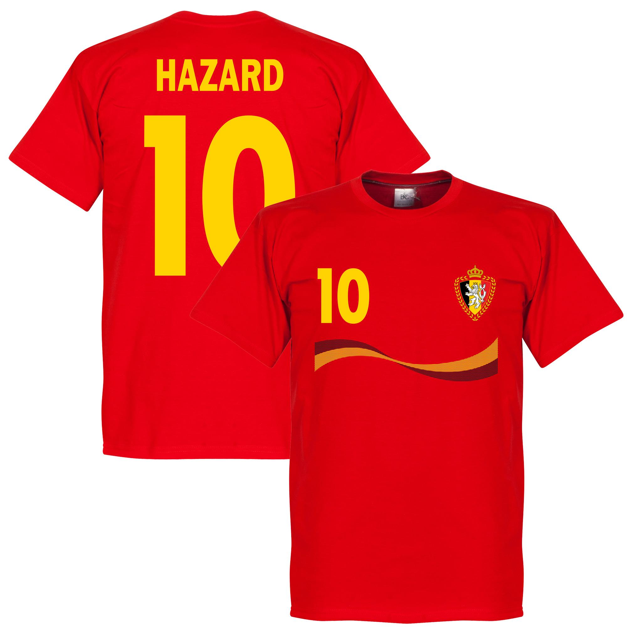 Belgium Hazard Tee - Red - XL