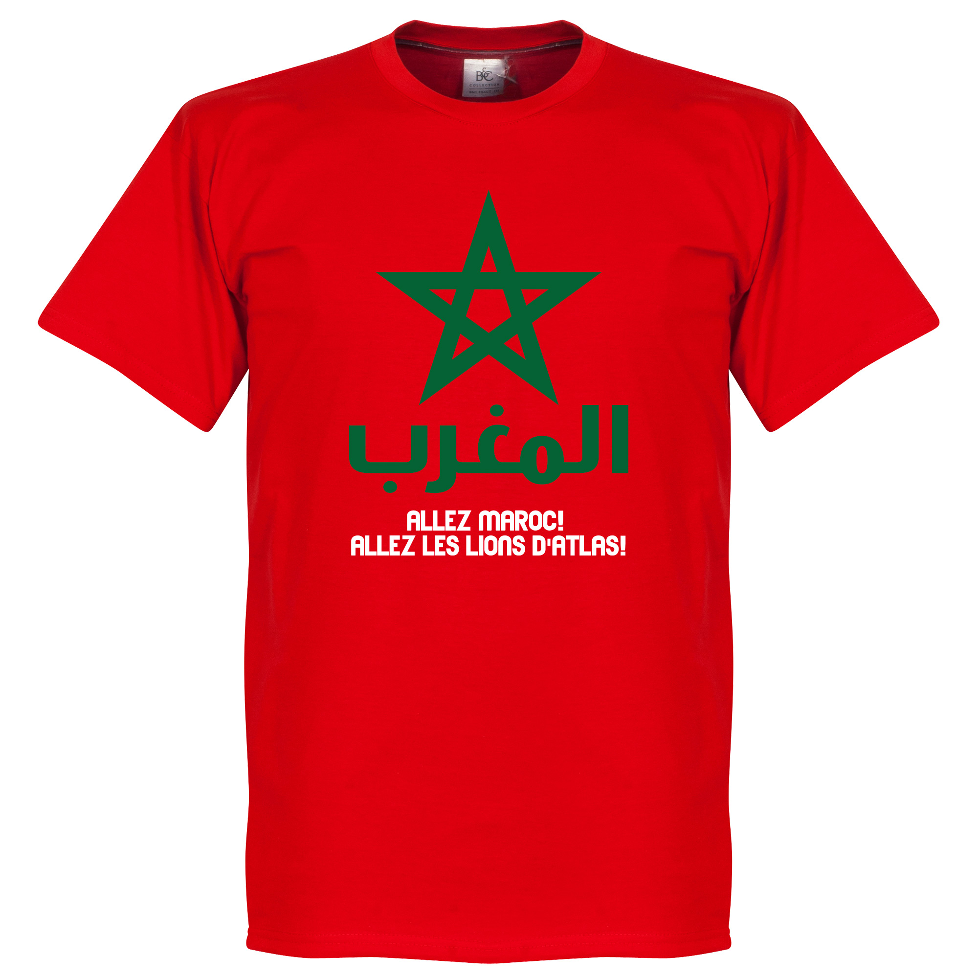 Allez Marocco Tee - Red - M