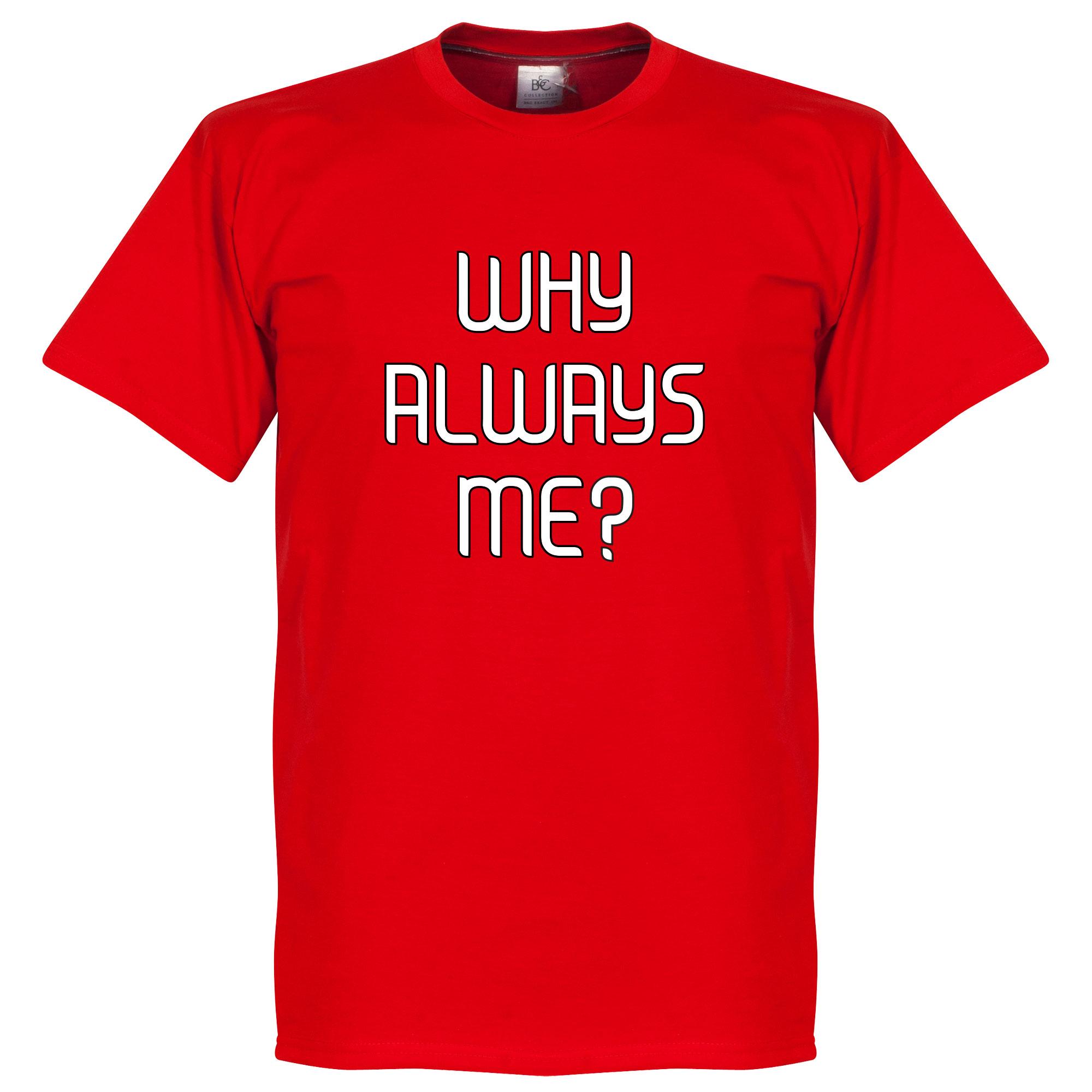 Perché Sempre A Me? Milan Balotelli Tee - XS