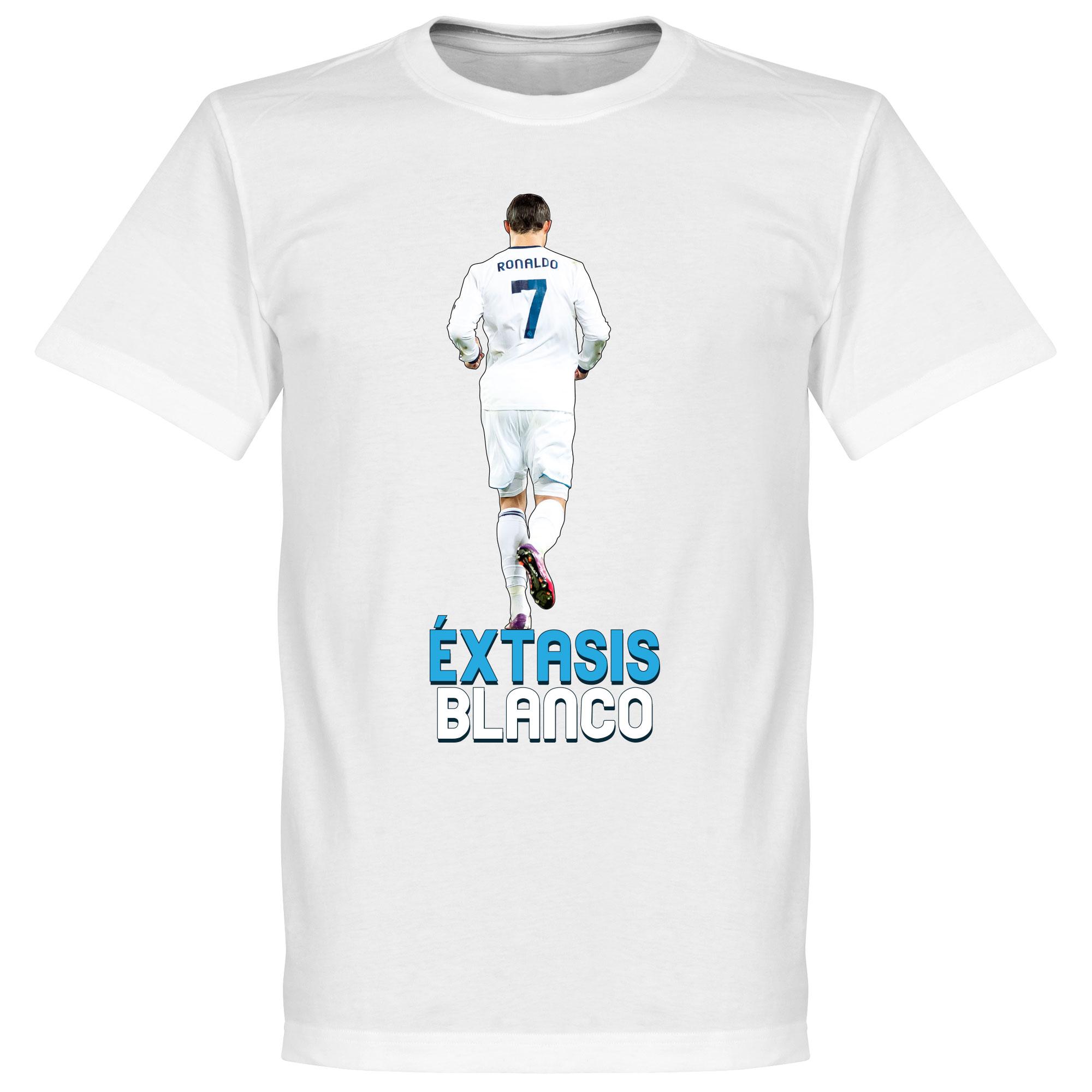 Madrid Éxtasis Blanco Ronaldo Tee - XXXXXL