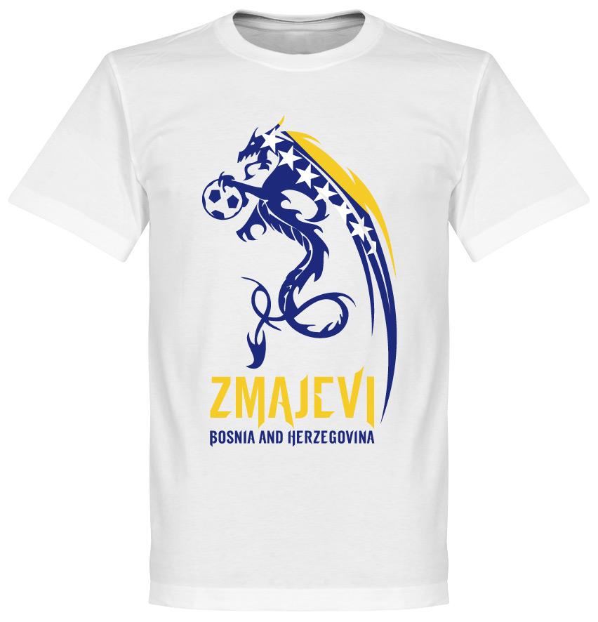 Bosnia Herzegovina Zmajevi Tee - White - XXL