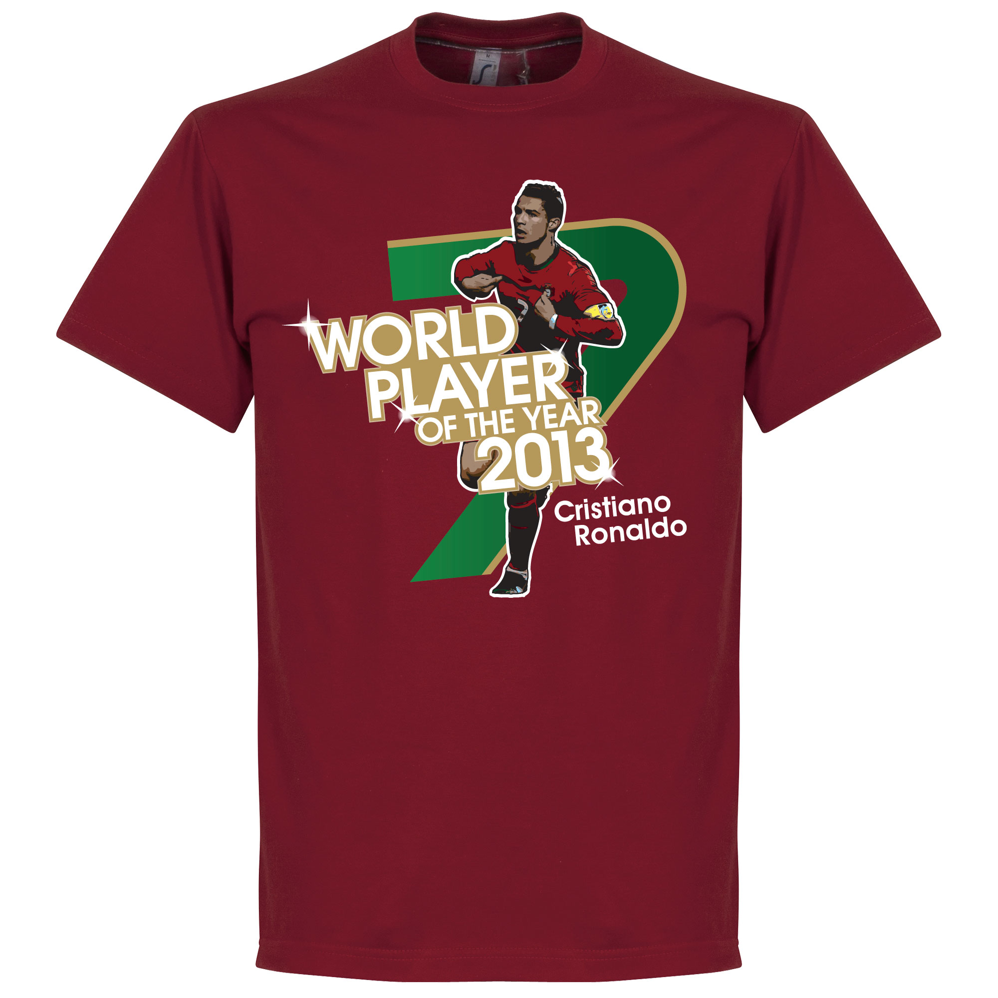 Ronaldo 2013 World Player of the Year Tee - XL