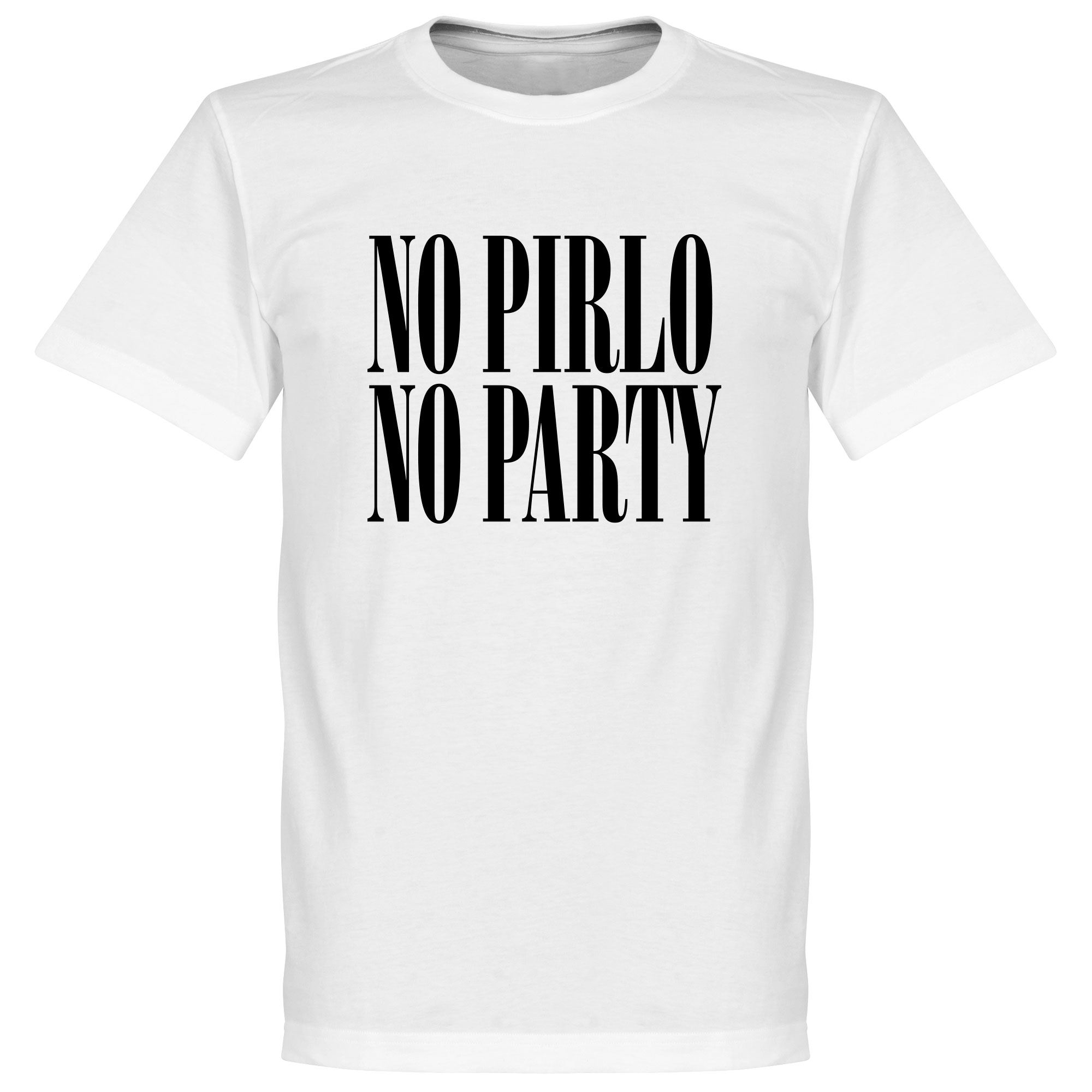 No Pirlo No Party KIDS Tee - White - 4