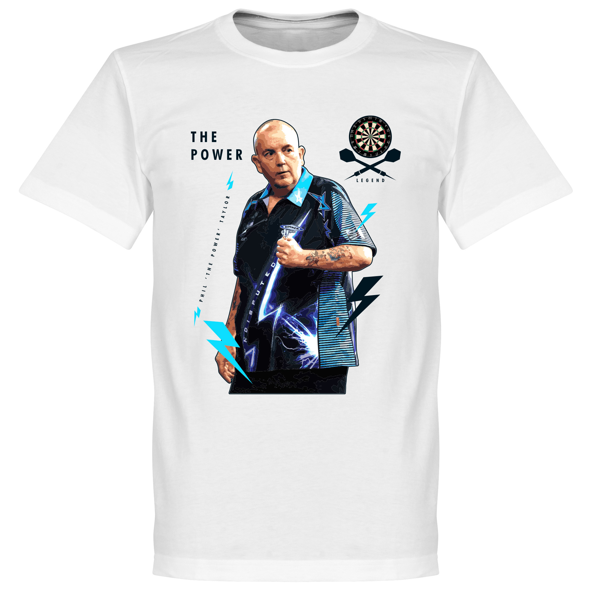 Phil The Power Taylor Tee - White - S