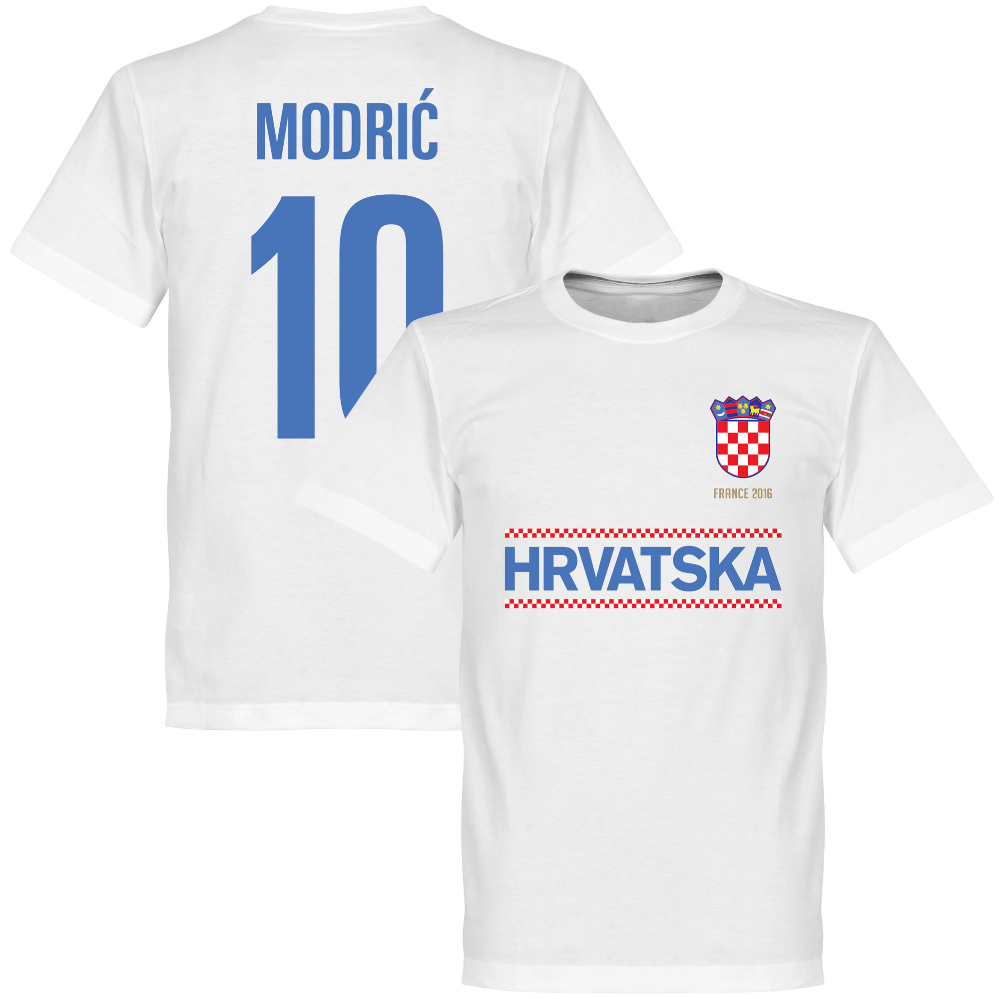 Croatia Modric Team Tee - White - XL