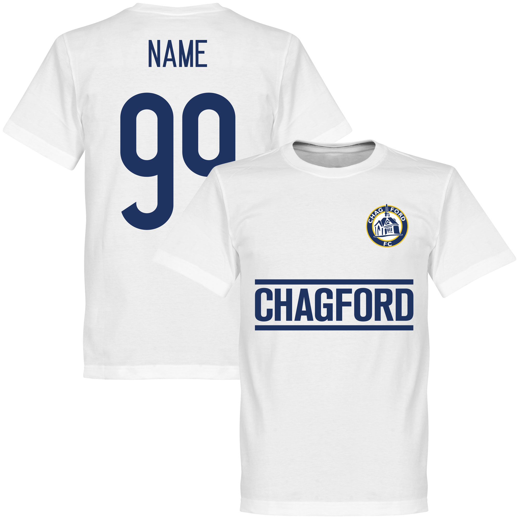 Chagford FC Team Assist KIDS Tee - White - 4