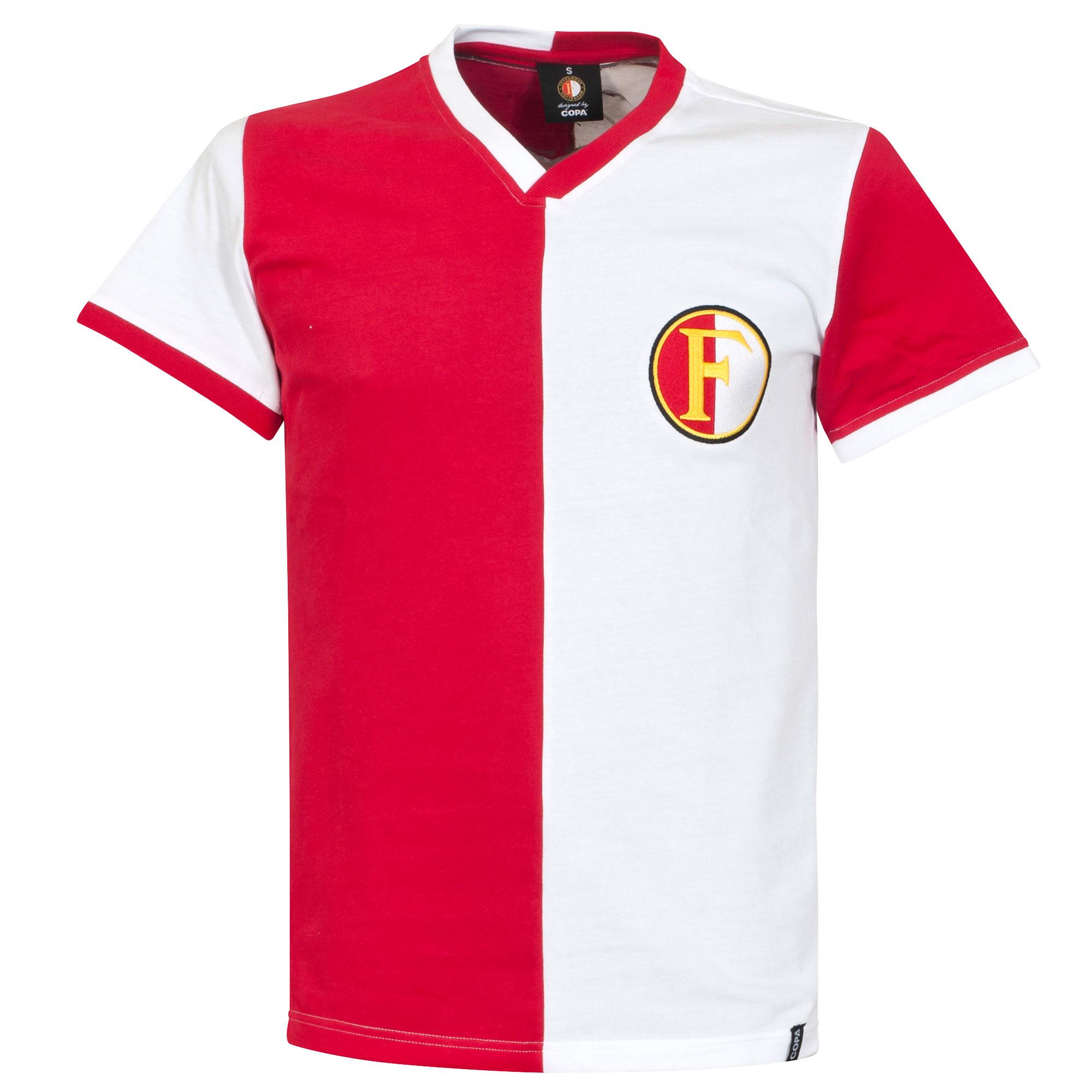 1960s Feyenoord Retro Shirt - XL