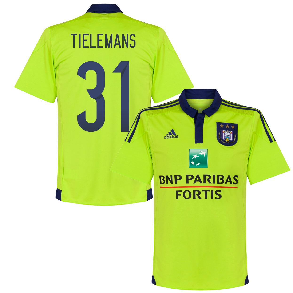 Anderlecht Away Tielemans Jersey 2015 / 2016 (Official Printing) - 42