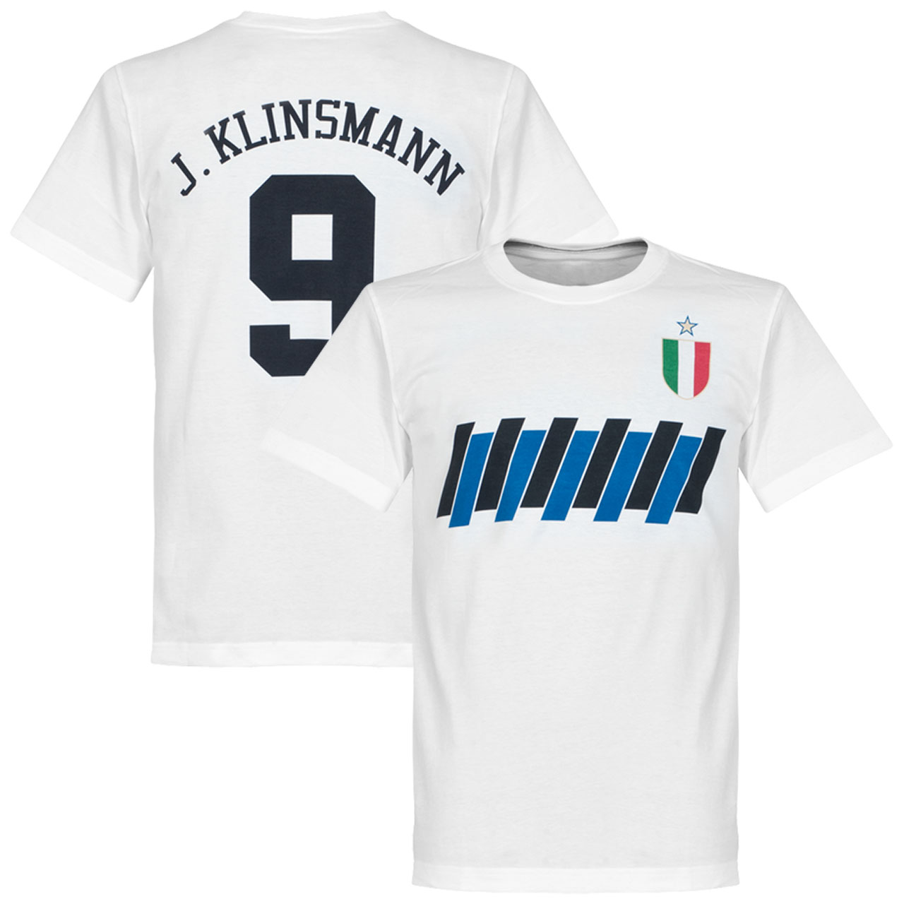 Inter Klinsmann Graphic Tee - White - XXXL