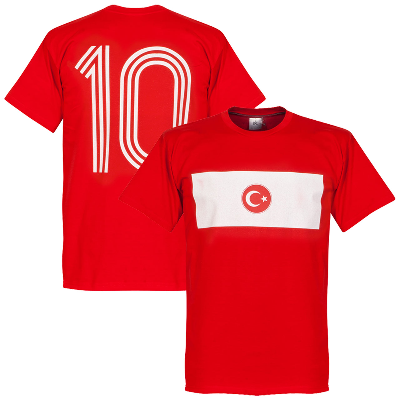 Turkey Banner Tee - Red - XL
