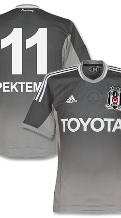 Besiktas 3rd Pektemek Formotion Jersey 2013 / 2014 (Fan Style Printing) - 46