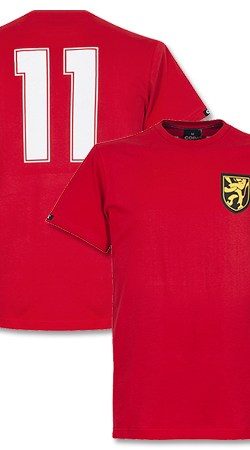COPA Belgium Captain Tee - Red - L