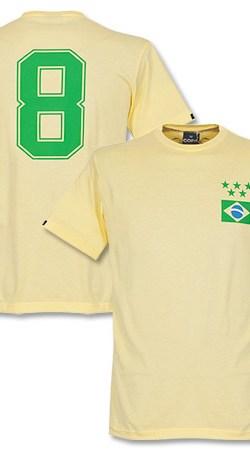 Copa Brasil Capitão Tee - Yellow - XXL