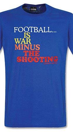 Football is War Tee - Blue - S