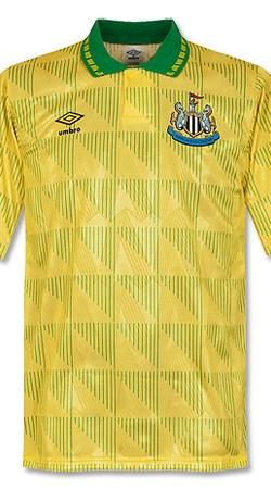 91-92 Newcastle United Away Jersey - Grade 8 - L