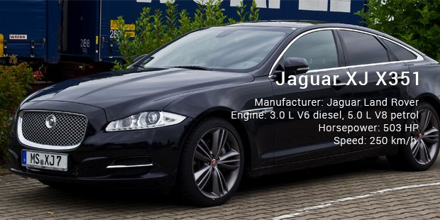Jaguar XJ X351