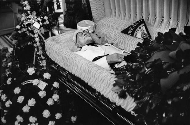 Funeral Sam Cooke Casket