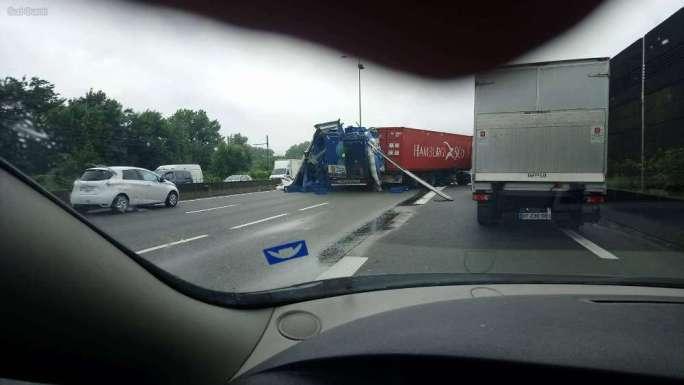 El accidente se produjo a Sainte-Eulalie