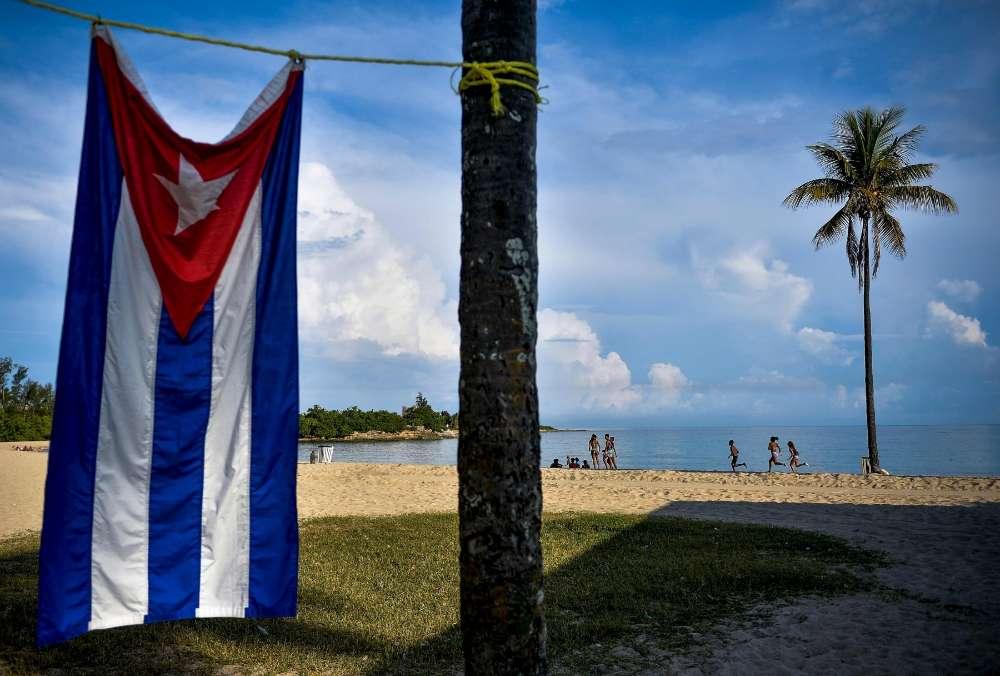 La petite plage de Bacuranao, à 30 kilomètres de La Havane