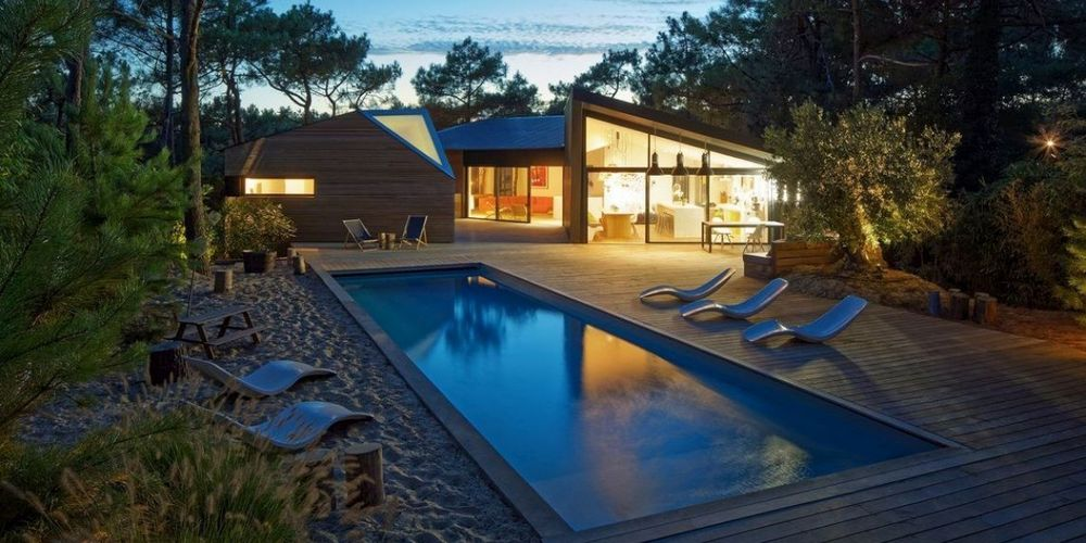 une extraordinaire villa du cap ferret