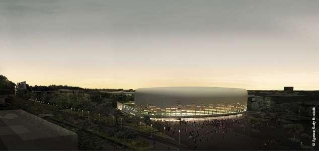 La salle de spectacle d'une jauge de 10000 personnes pourra accueillir à la fois des spectacles de variétés et du sport