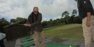 Premières leçons de golf pour aveugles