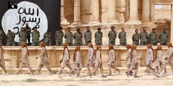 Syrie : Daesh diffuse une vidéo montrant une exécution de masse à Palmyre