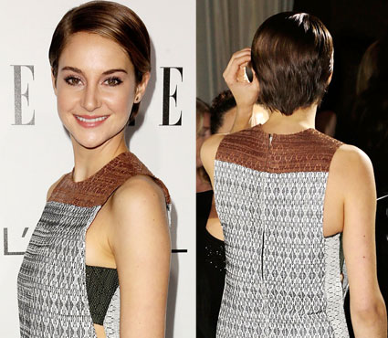 shailene woodley cuts all her hair off - shailene woodley images - sugarscape.com