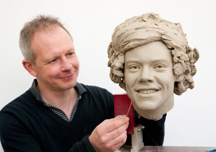 harry styles waxwork