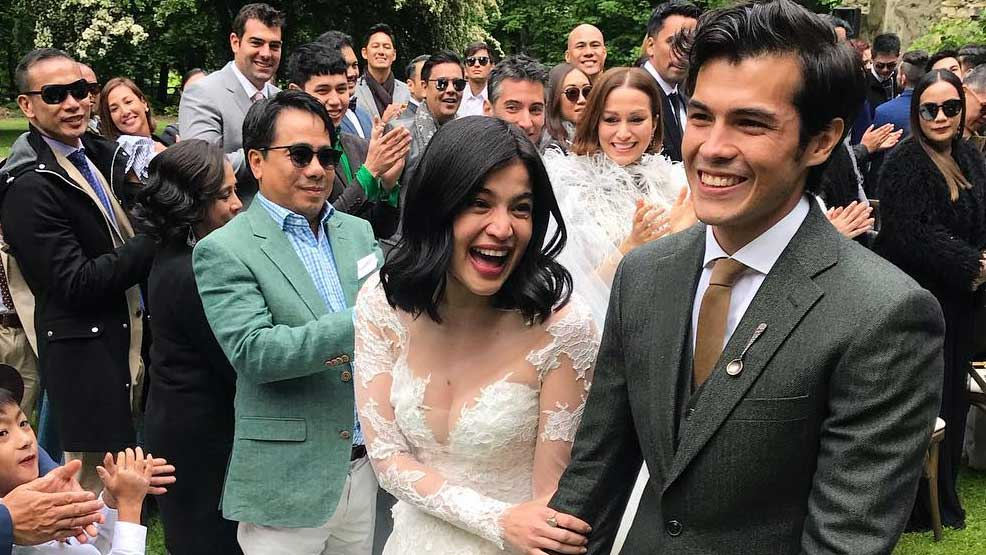 Anne Curtis And Erwan Heussaff Are Married