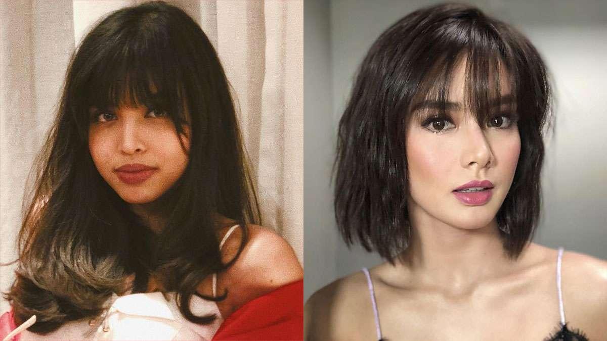 Celebrity Bangs Hairstyles 2018 Cosmoph